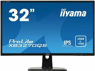 IIYAMA Monitor 32 XB3270QS-B1 IPS  WQHD  HDMI  DP  PIVOT
