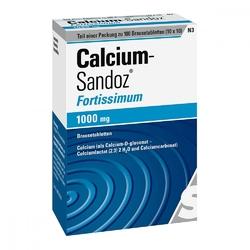 Calcium sandoz fortissimum brausetabl.