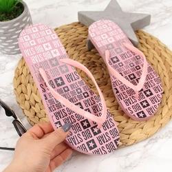 Klapki damskie japonki plażowe różowe big star ff274a304 - różowy