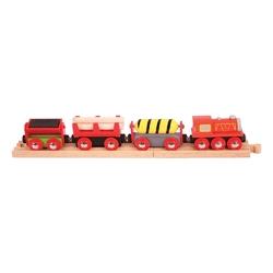 Pociąg towarowy dostawczy