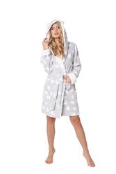 Aruelle polar bear bathrobe szlafrok damski