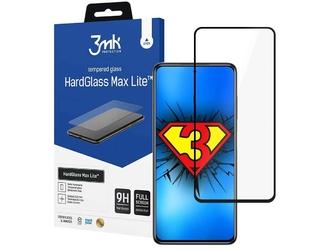 Szkło ochronne 3mk hardglass max lite do xiaomi poco x3 nfc black