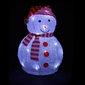 Bałwanek świecący 32cm, 20 led