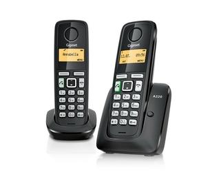 Siemens gigaset telefon dect a220 duo  bezprzewodowy