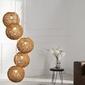 Interior space :: lampa wisząca cocon 5 brązowa