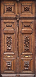 Fototapeta na drzwi drzwi rzeźbione 925