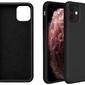 Etui alogy thin soft case do apple iphone 11 czarne + szkło alogy - czarny