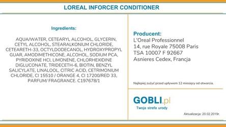 Loreal inforcer, odżywka regenerująco-nawilżająca do włosów 1000ml