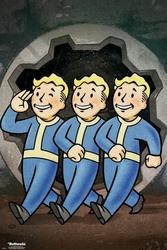 Fallout 76 Vault Boys - plakat