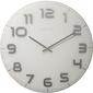 Zegar ścienny classy nextime 50 cm, biały 3105 wi