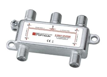 Rozgałęźnik 1-4 dvb-t sat opticum - szybka dostawa lub możliwość odbioru w 39 miastach