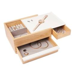 Umbra - pudełko na biżuterię stowit - brązowy