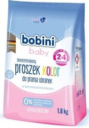 Bobini baby color, proszek do prania ubranek niemowlęcych, 1.8kg