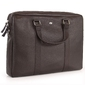 Skórzana torba na laptopa 15 unisex daag shaker 3 ciemnobrązowa