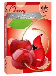 Bispol, cherry, podgrzewacze zapachowe, 6 sztuk