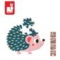 Jeż mini puzzle baby forest 12 el.