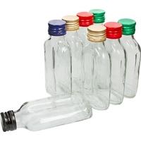 butelki na nalewki 100 ml 8 szt. z zakrętkami