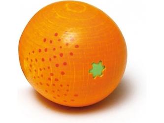 Drewniana pomarańcza do zabawy w sklep