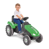 Mega duży traktor na akumulator woopie 12v zielony