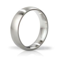 Sexshop - stalowy pierścień na penisa - mystim his ringness earl brushed 51mm - online