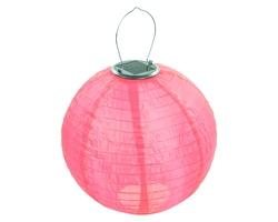 Lampion solarny ogrodowy 30cm zewnętrzny czerwony lampa solarna joylight