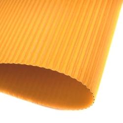 Tektura falista fala e 25x35 cm folia - żółty - żół