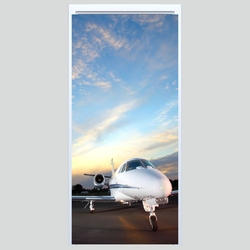 Fototapeta na drzwi samolot 068p