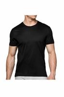Koszulka męska bmv-048 czarna atlantic