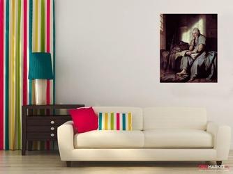 święty paweł w więzieniu rembrandt van rijn ; obraz - reprodukcja