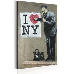 Obraz - i love new york by banksy
