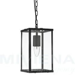 Voyager lampa wisząca 1 czarny szkłometal