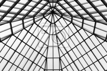 Fototapeta szklany dach