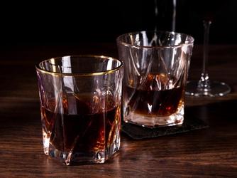 Szklanki do whisky altom design jack gold 330 ml komplet 6 sztuk