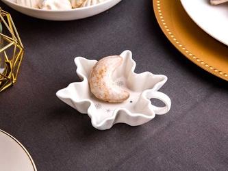 Salaterka  dipówka porcelana święta boże narodzenie altom design ballerina winter płatek śniegu 12 cm
