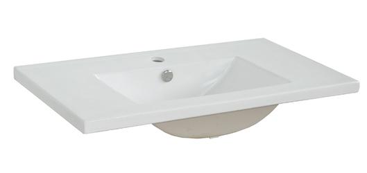 Szafka łazienkowa z umywalką sally 6080 cm biała