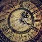 Obraz stary zabytkowy zegar