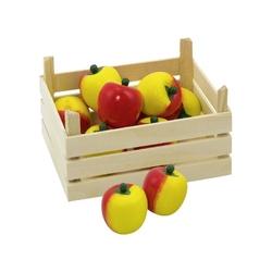Jabłko drewniany owoc