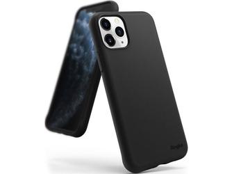 Etui ringke air s do apple iphone 11 pro max black + szkło alogy - czarny