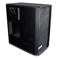 Fractal Design Meshify C Blackout Tempered Glass 2.53.5 drive capacity  uATXATXITX