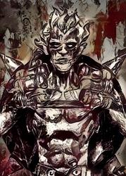 Legends of bedlam - junkrat, overwatch - plakat wymiar do wyboru: 40x50 cm