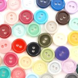 Kolorowe guziki - mix 11 mm50 szt. - 11mm