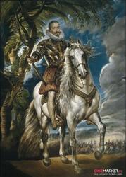 portret księcia lermy - peter paul rubens; obraz - reprodukcja