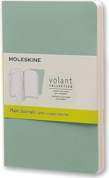 Zeszyty moleskine volant 2 szt. p gładkie zielone