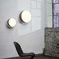 Kaspa :: lampa sufitowa  plafon space biały śr. 38 cm rozm. s