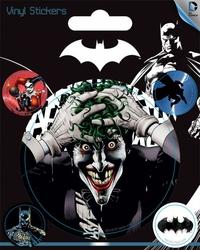 DC Comics Batman i Joker - naklejka z komiksu