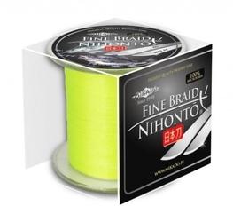 Plecionka mikado nihonto fine braid fluo żółta 0,23mm 300m 20,20kg