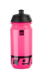 Bidon accent peak różowy fluo-czarny 500 ml