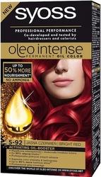 Syoss oleo, farba do włosów, 5-92 intensywna czerwień