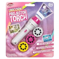 Latarka projektor jednorożce unicorn 24 slajdy
