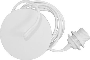 Zawieszenie do lamp rosette białe